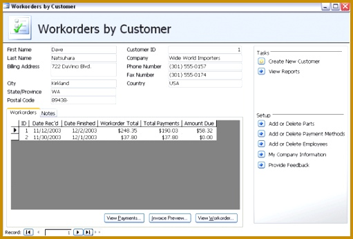 access order form template using work order software and forms for manufacturing management free 511346