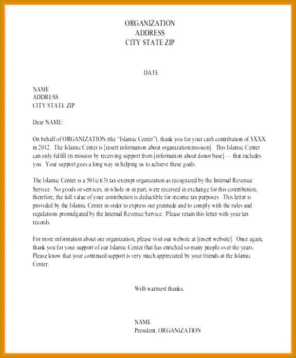 receipt of cash letter payment acknowledgement letter format 6 697576