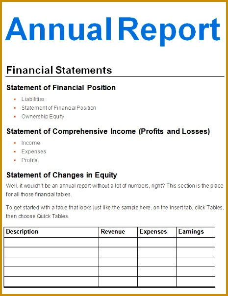 Report Template 16 Download Free Documents In Pdf Word Excel 604465