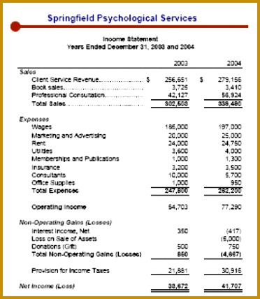 financial statement template 222 372428