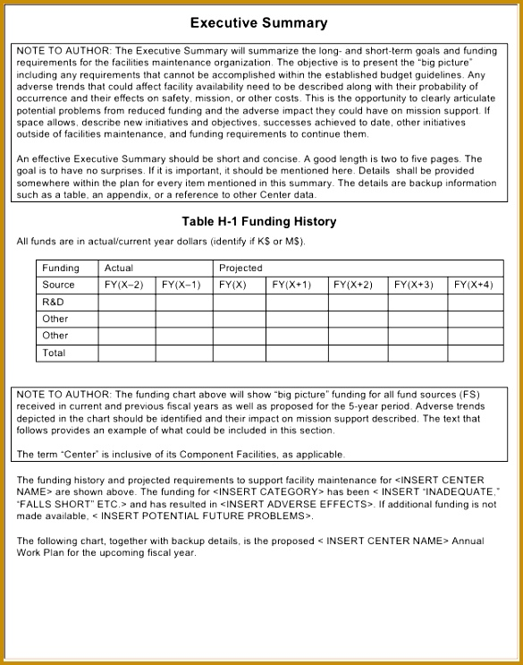 3 Annual Maintenance Schedule Template