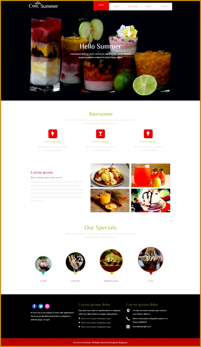 Gallery website template free gallery professional for Cool drawing websites free
