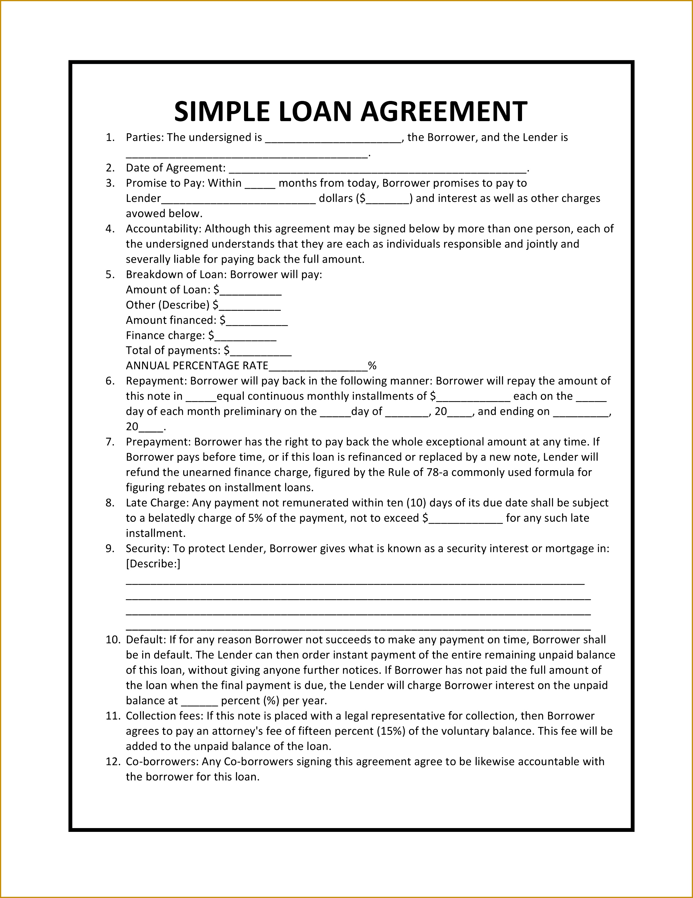 5 artist management agreement doc