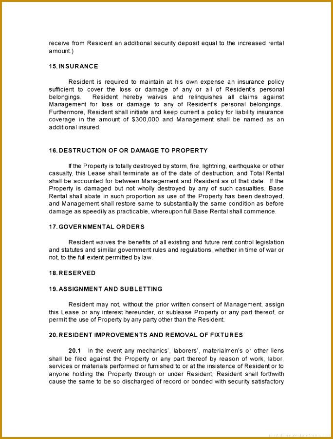 Assignment Benefits Form Template 901684