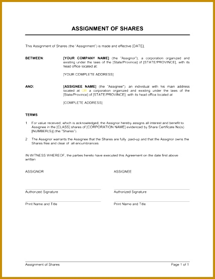 7 assignment of rents form