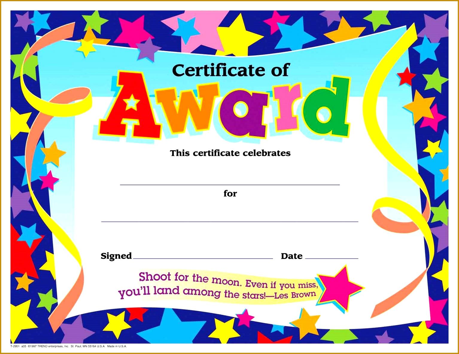 award certificates Printable Award Certificate Templates 15341185