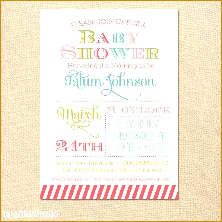 5 Baby Shower Menu Template Free Fabtemplatez