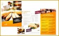 4 Bakery Pamphlet Sample