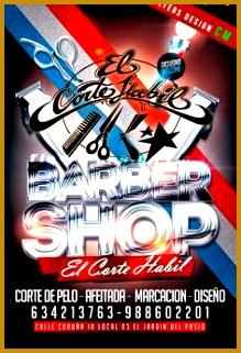 flyers CM Barbershop Flyer Dise±o exclusivo y personalizado para peluquerias Dise±o de flyers 321219
