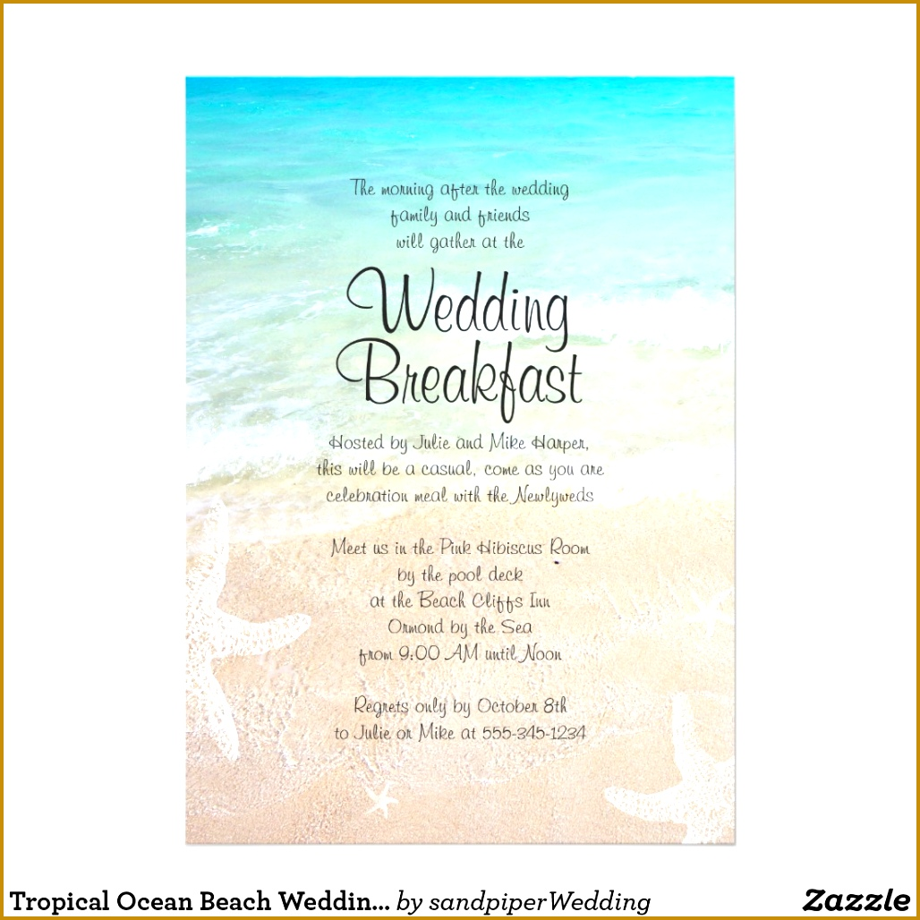 4 Beach Wedding Invitation Background | FabTemplatez