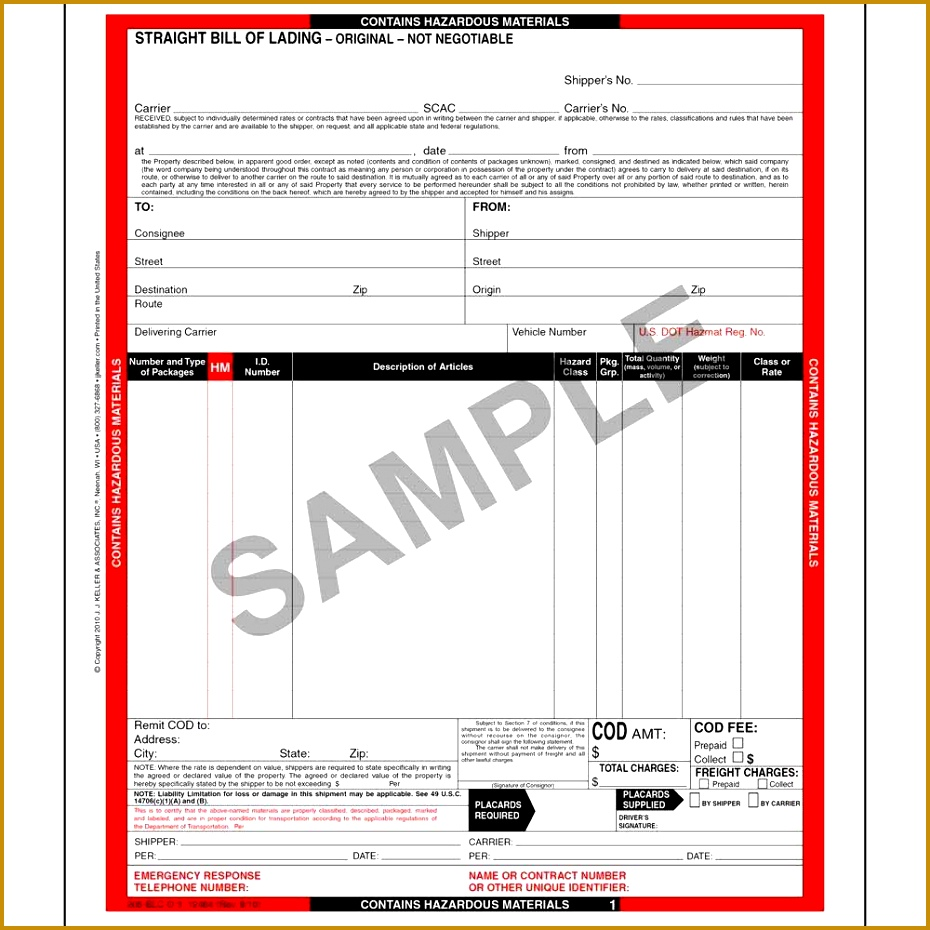 Blank Bill Of Lading Forms Free Printable Contracts Resume Bill Of Lading  Short Form Template 38879 Straight Bill Lading Short Form Template Free And  ...  Blank Bill Of Lading Short Form