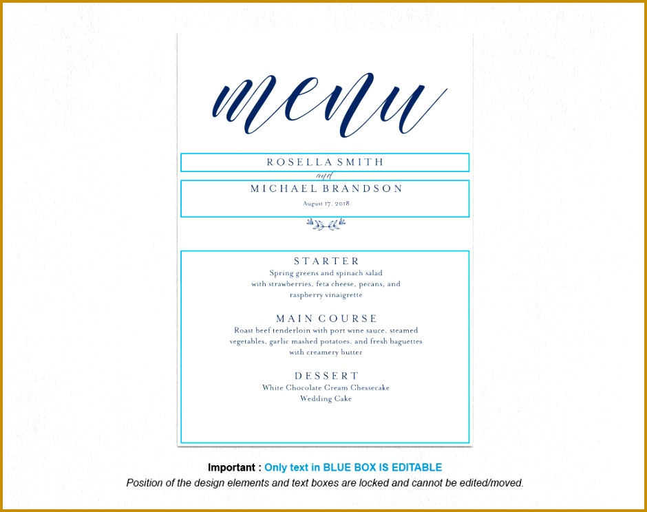 Wedding Dinner Menu Template Eliolera Il Fullxfull Wedding Dinner Menu Template Free Printable Dinner Menu Templates Free Printable Dinner Menu Templates 744940