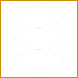 Blank Label Templates 30 Per Sheet by Templates Print To The Edge Oval Labels 3 Per 258258