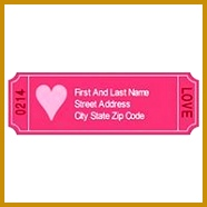 Free Avery Templates Love Coupon Address Labels 30 per sheet 186186
