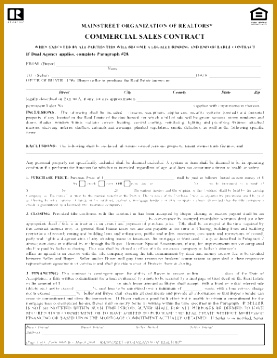 mercial real estate contract forms 358277