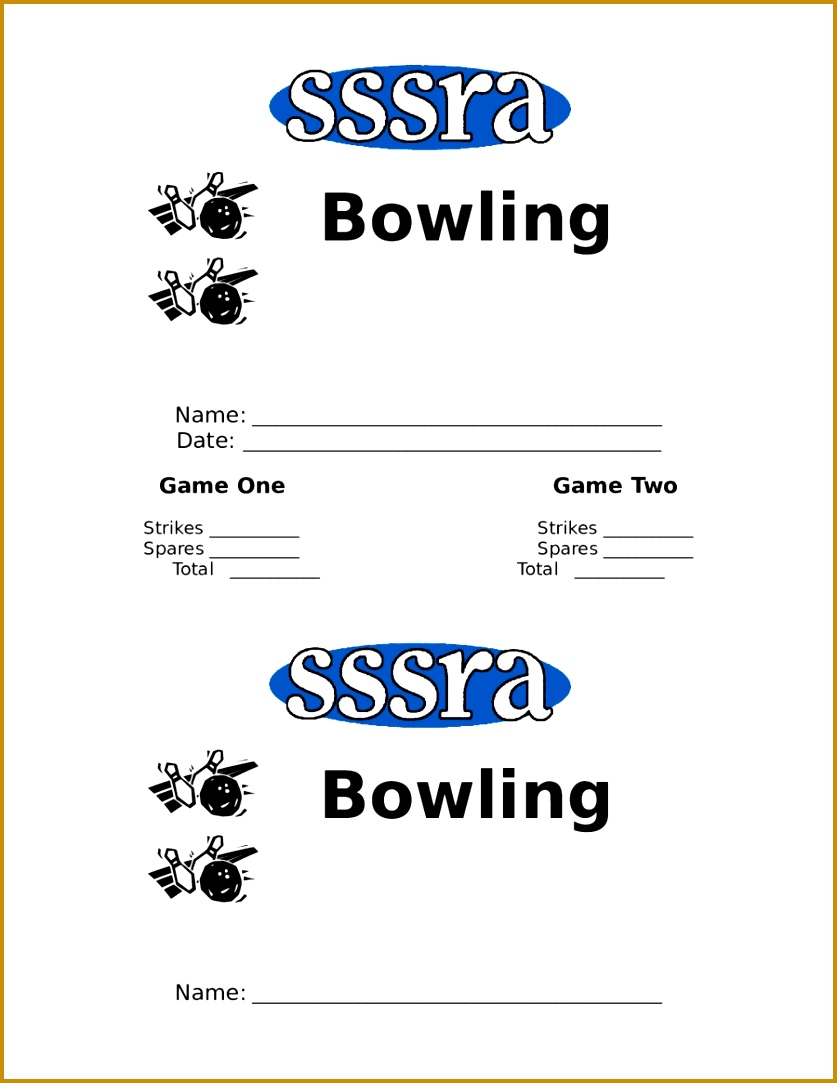2017 Score Sheet Fillable Printable PDF Forms Handypdf Bowling Score Sheet 01 Score Sheet Bowling Recap Sheet Template 28 Bowling Recap Sheet Template 28 1083837