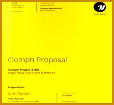 3 Branding Proposal Template
