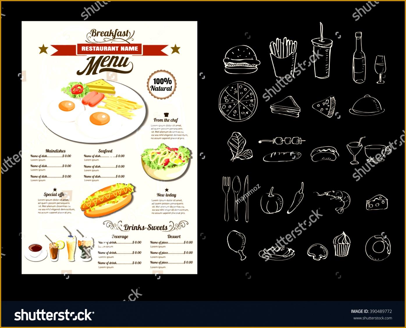 breakfast menu template word breakfast menu format breakfast menu classroom agenda template 13951128
