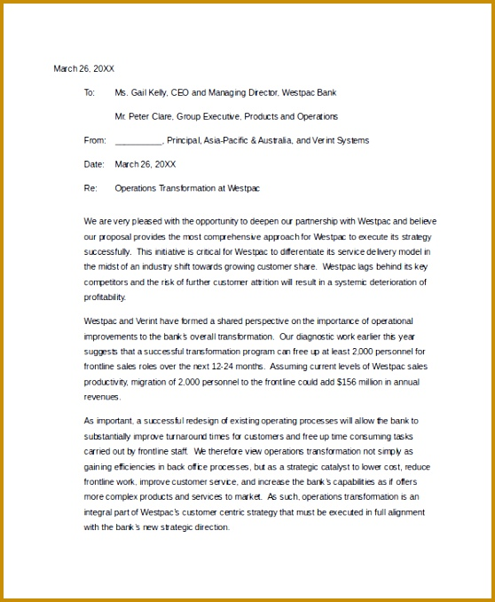 Business Partnership Proposal Cover Letter 678558