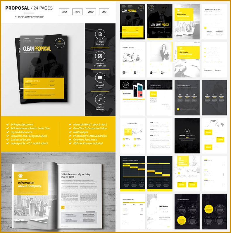 Multipurpose Business Proposal Template 796790