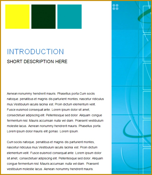 Word Template Business 17 Business Report Templates Free Sample Example Format Download 729634
