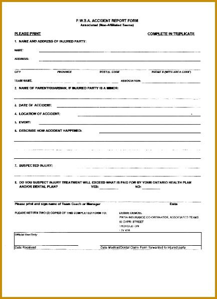 Property Damage Report Template Apigram 595433