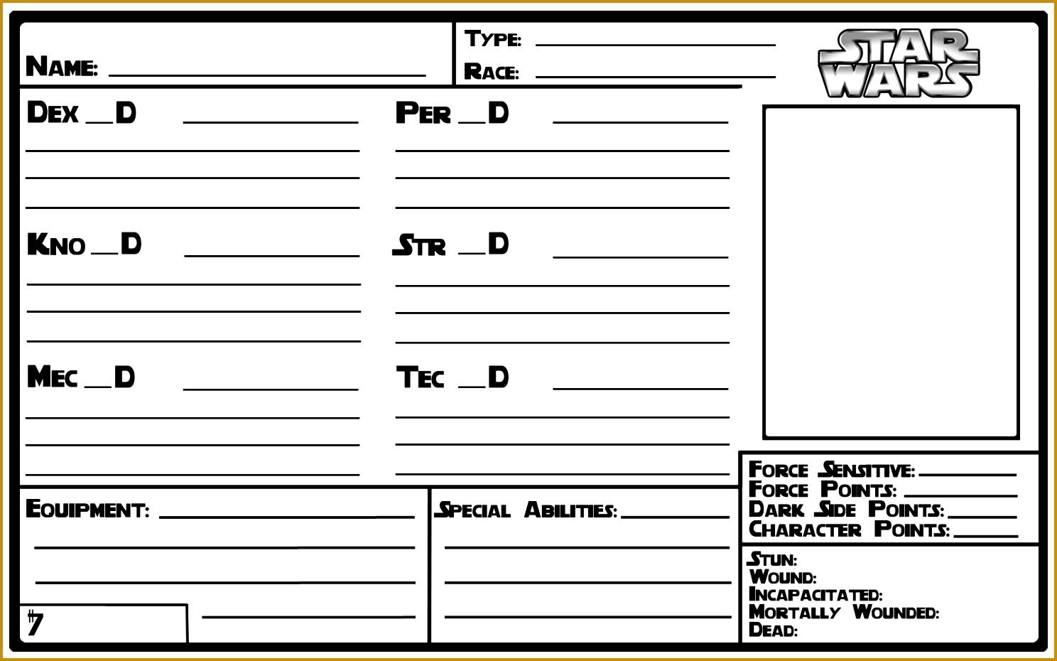 5x8 Character Sheet Template redux 9301488