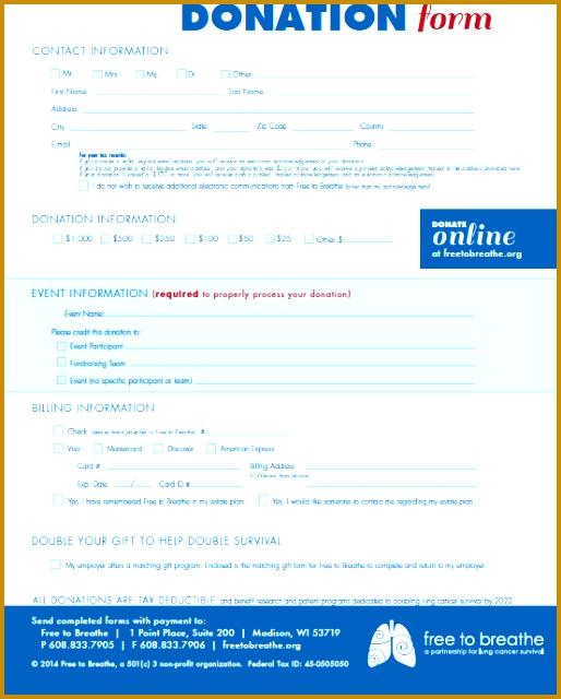 Donation Form 640514