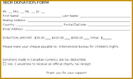 donation form example 9741 clip 440264