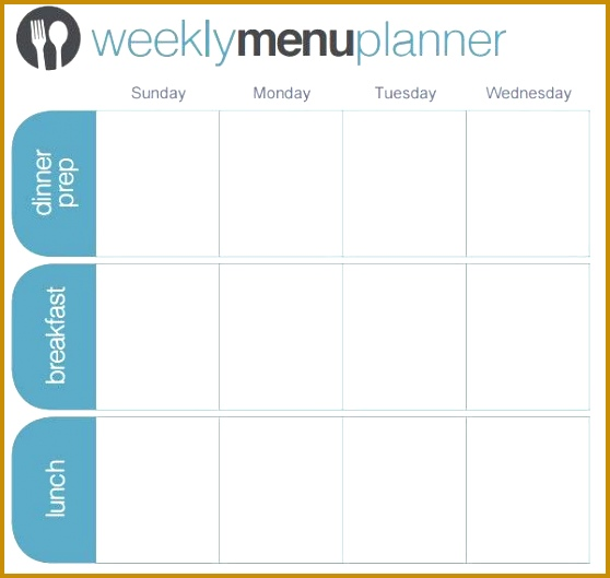 Menu Planner Template U2013 18 Free Word PSD PDF EPS InDesign 529558  Menu For The Week Template