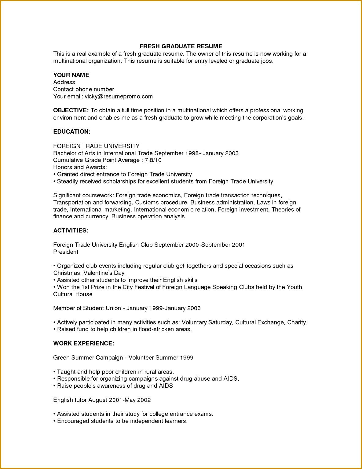 Sample College Admissions Resume Creating Resume Get Into College Free Sample Resume Cover college grad resume 15341185