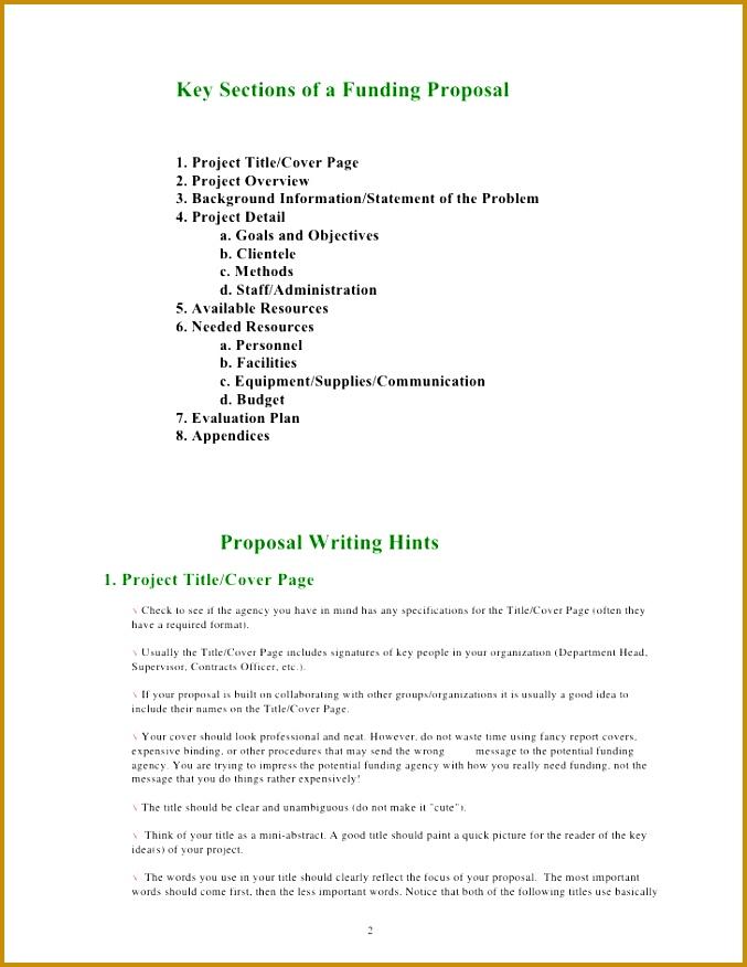4 Community Project Proposal Template Fabtemplatez