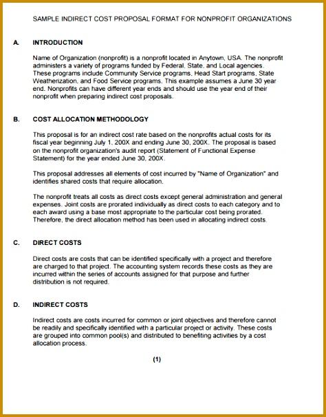 6 Community Service Proposal Template Fabtemplatez