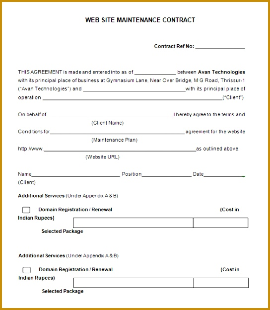 contractor quotation format