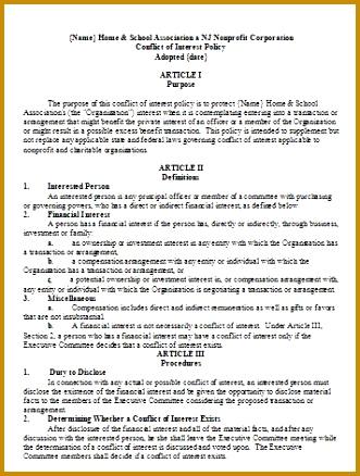 Conflict of interest disclosure form template enchanting conflict of 7 conflict of interest form template fabtemplatez maxwellsz