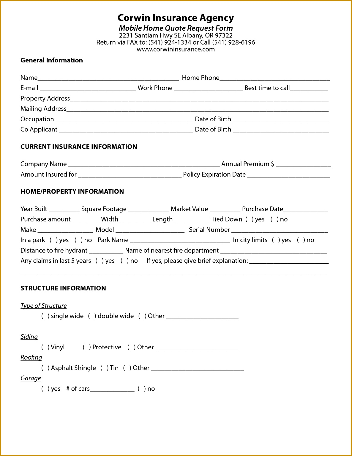 Construction Material Request Form Template 03662 Free Quote Form