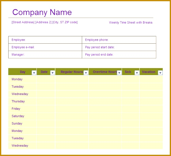 Contractor Sign In Sheet Template  Fabtemplatez