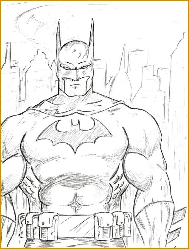 Batman Sketch by VulcanEnki 634837