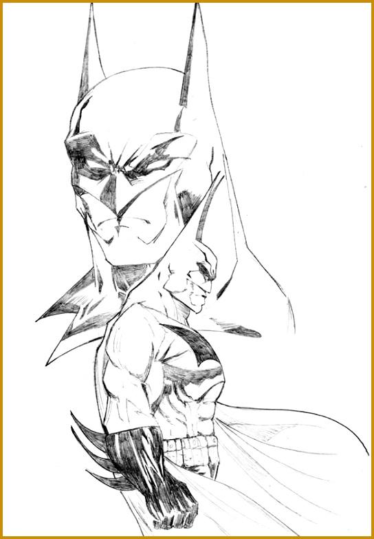 The Best Batman Drawing Download 783544