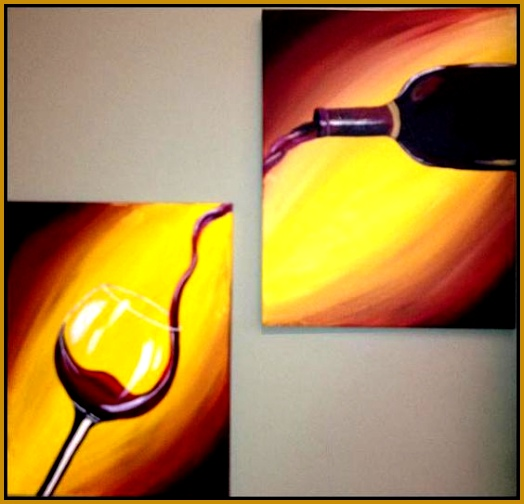 """Paint and sip """"Pour Me A Glass"""" Painting and Sipping Events Renton WA Meetup 504524"""
