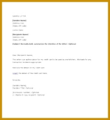 authorization letter samples and templates template lab sample cover letters Dispute Credit ReportCredit 239219