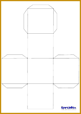 Blank dice template will use this for alphabet and number review games until I 283400