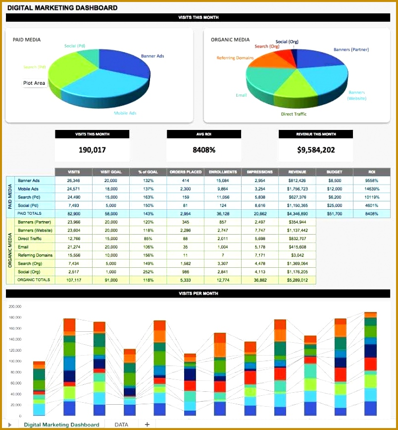 Image for Marketing Reports Templates 867804