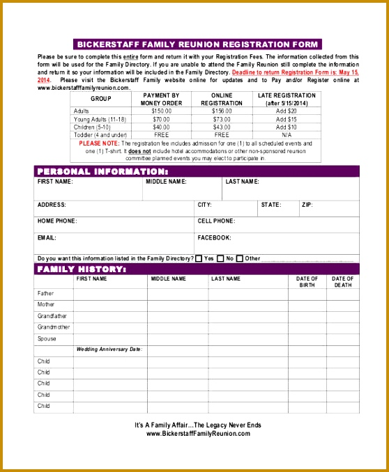 dance school registration form template free - 6 dance school registration form template free fabtemplatez