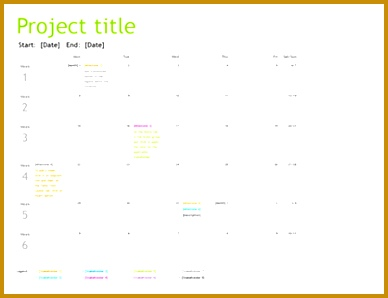 Project planning timeline 298388
