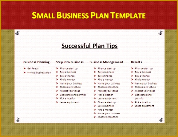 Easy Small Business Plan Template Best 20 Business Plan Template Ideas Pinterest Template For Template 595459