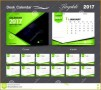 4 Desk Calendar Design Templates