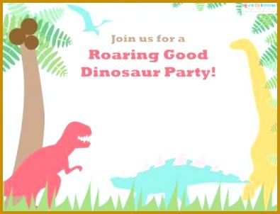 Free Dinosaur Birthday Invitation Templates Dinosaur Party Invitations Gangcraft Ideas 395302