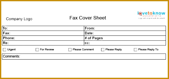fax cover sheet 256548