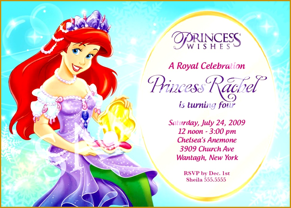 Princess Birthday Invitation Templates Princess Party Invitations princess birthday invitations template free disney Princess Birthday Invitation 693970
